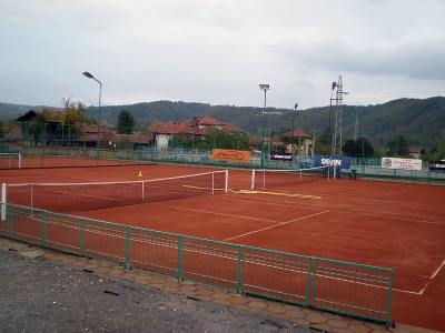 Tennis club in the village of Oreshak